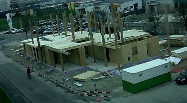 Le Pavillon Zwitserland project montage